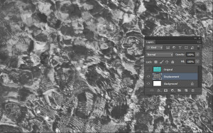 Tutorial screen shot - rename and desaturate water