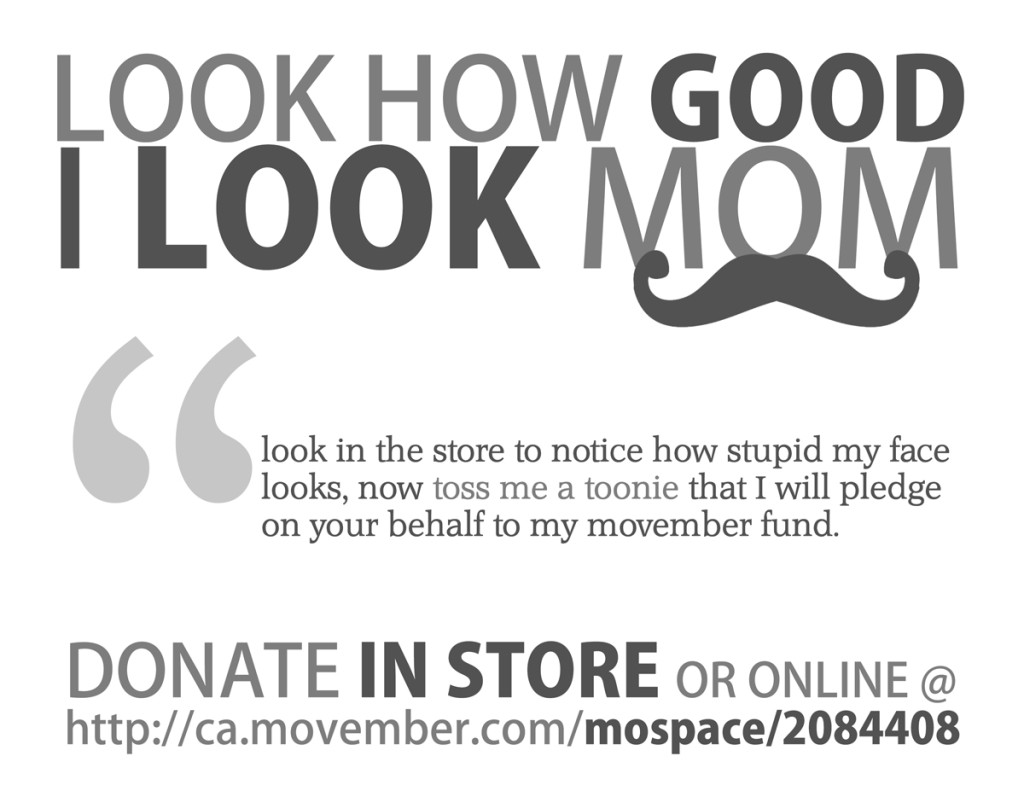 Kelowna Website Design Movember Fund