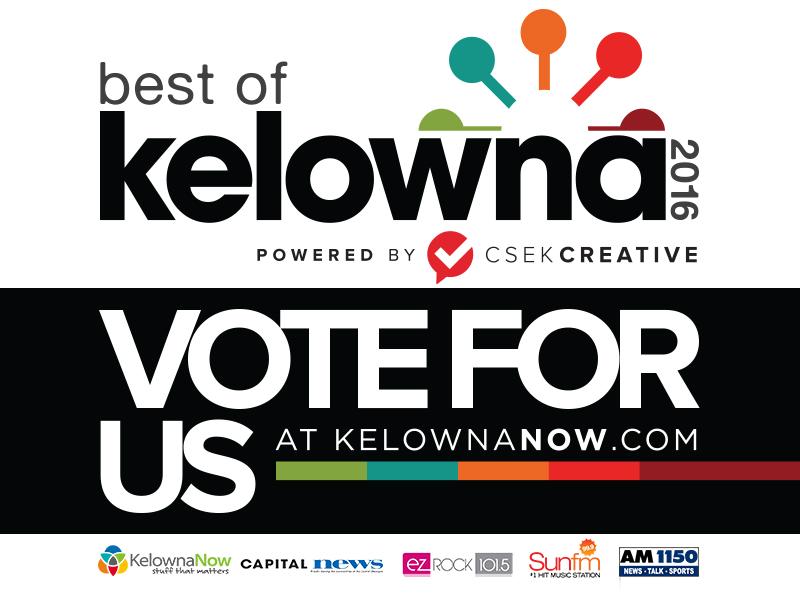 Best in Kelowna 2016 - VOTE for Kelowna Website Design